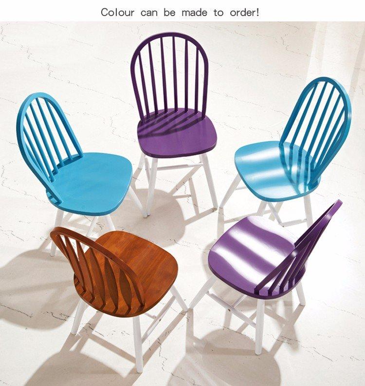 wood windsor chair