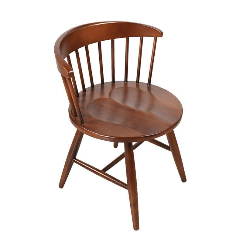 Nordic Design Wooden Low Back Windsor Dining Chair CA007