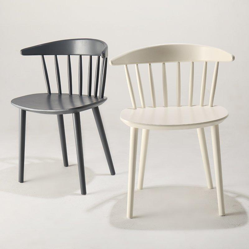 Contemporary Coffee Shop Colorful Wood Windsor Chair CA010
