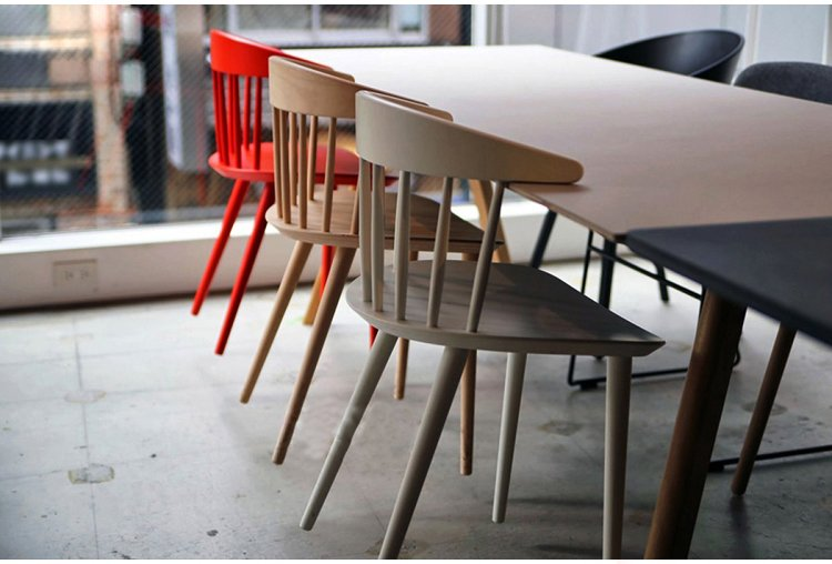 real wood dining chairs