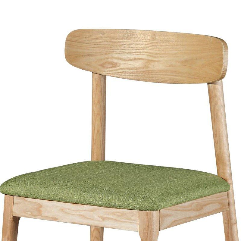 Modern Coffee Shop And Restaurant Wooden Dining Chair CA014