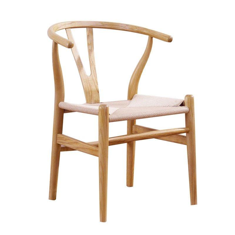 Nordic Style Restaurant Seating Solid Wood Y Chairs CA016