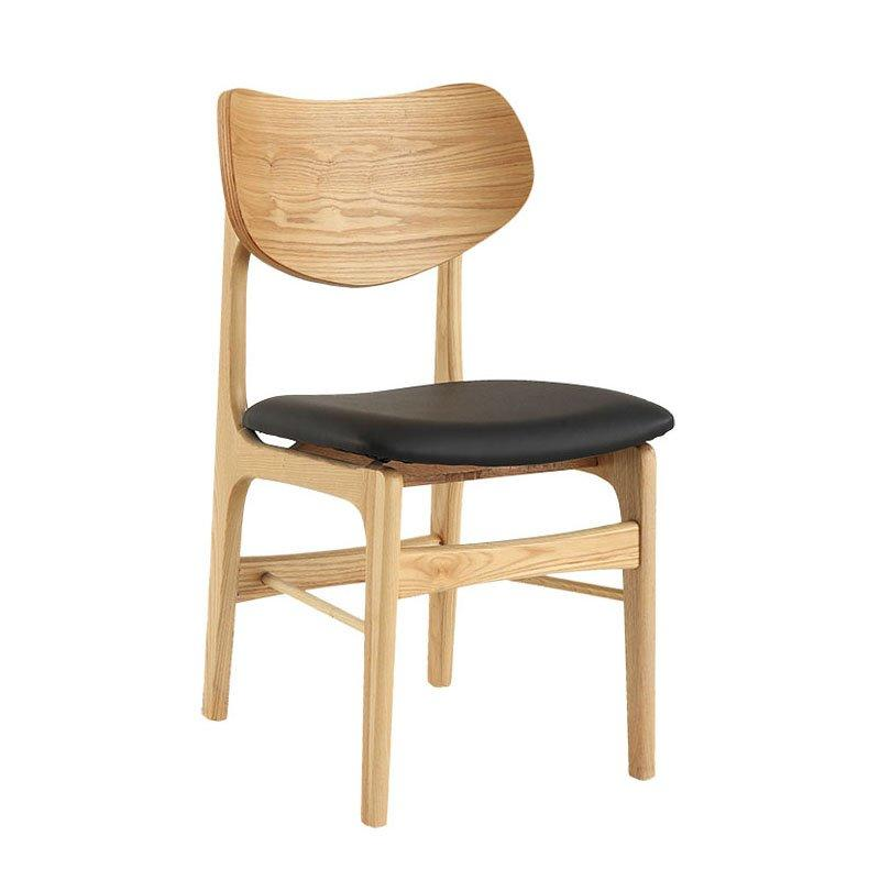 Modern Style Wooden Furniture Coffee Shop Leisure Chair CA025