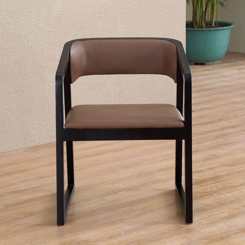 Contemporary Cafe Furnishing Wooden Dining ArmChair CA032