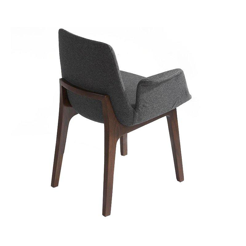 Modern Comfortable Fabric Arm Rest Chairs Seating CA035