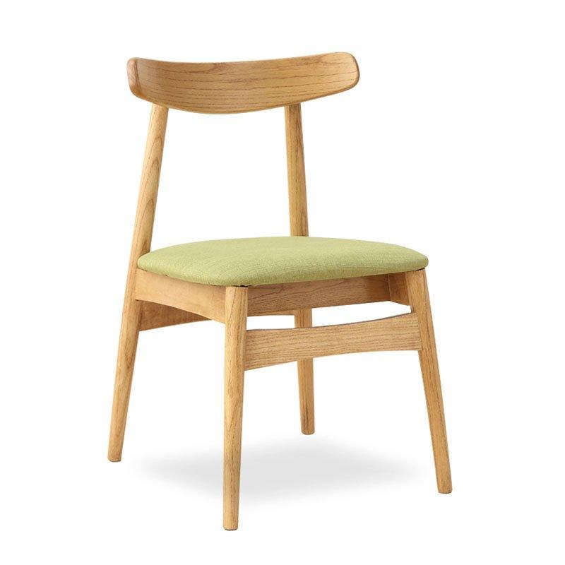 Scandinavian Style Coffee Shop Solid Wood Seating Chair CA038
