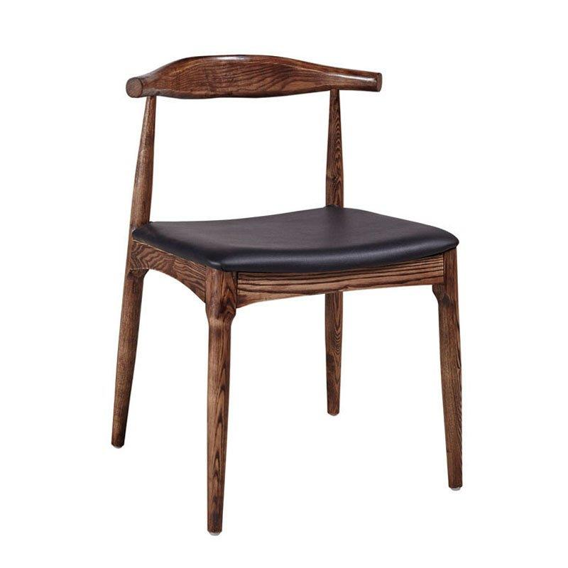 Antique Reproduction Furniture Wooden Ox Horn Chair CA013
