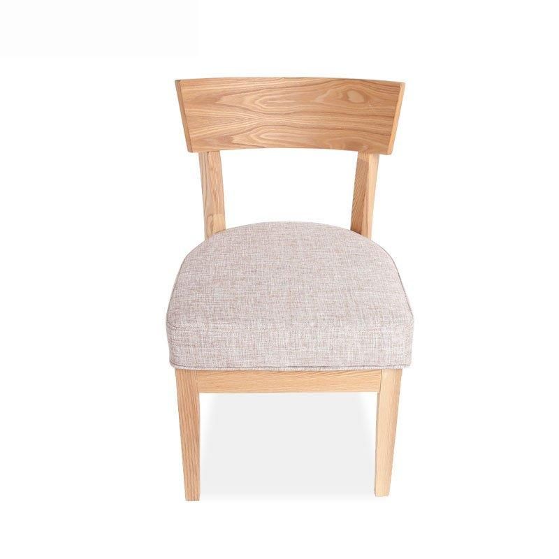 Commercial Dining Room Wooden Chairs With Upholstered CA040