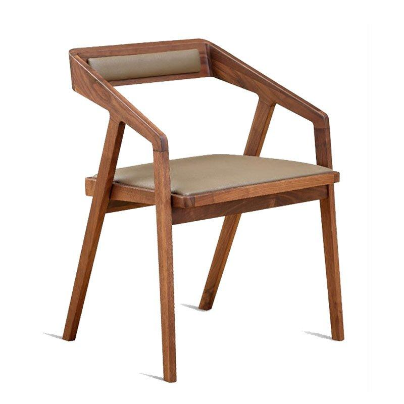 Modern Hotel And Banquet Wood Seating Chair CA045
