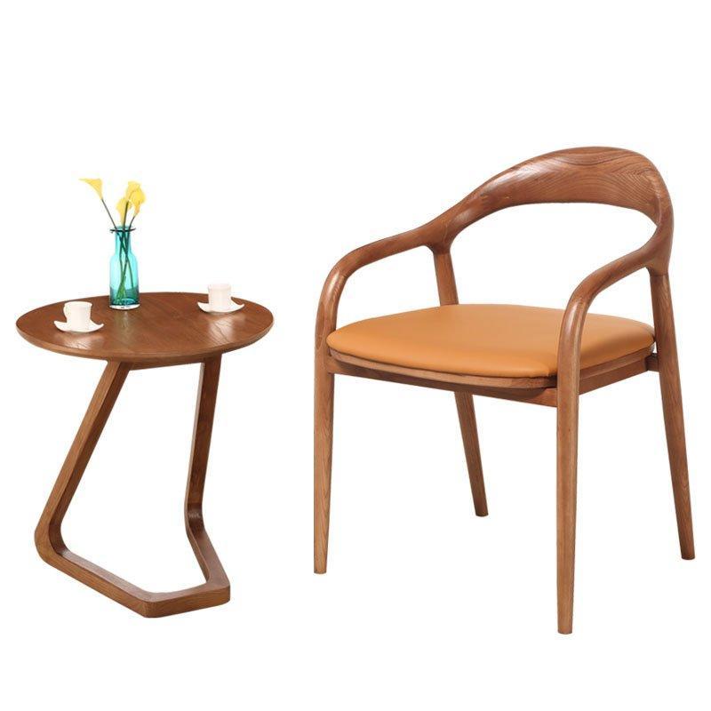 Modern Restaurant Furnishing Wooden Dining Stools CA048