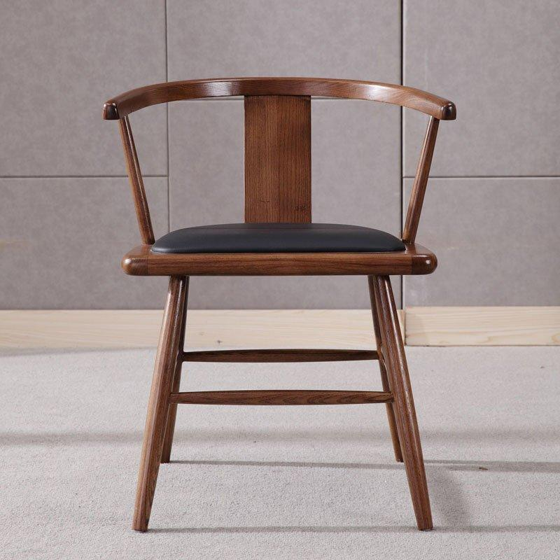 Classical Wooden Dining Seating Reception Chair CA055