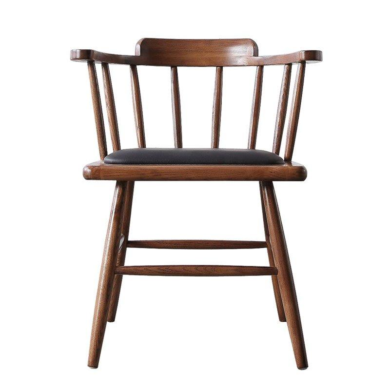 Nostalgic Wooden Windsor Chair For Coffee Shop CA056