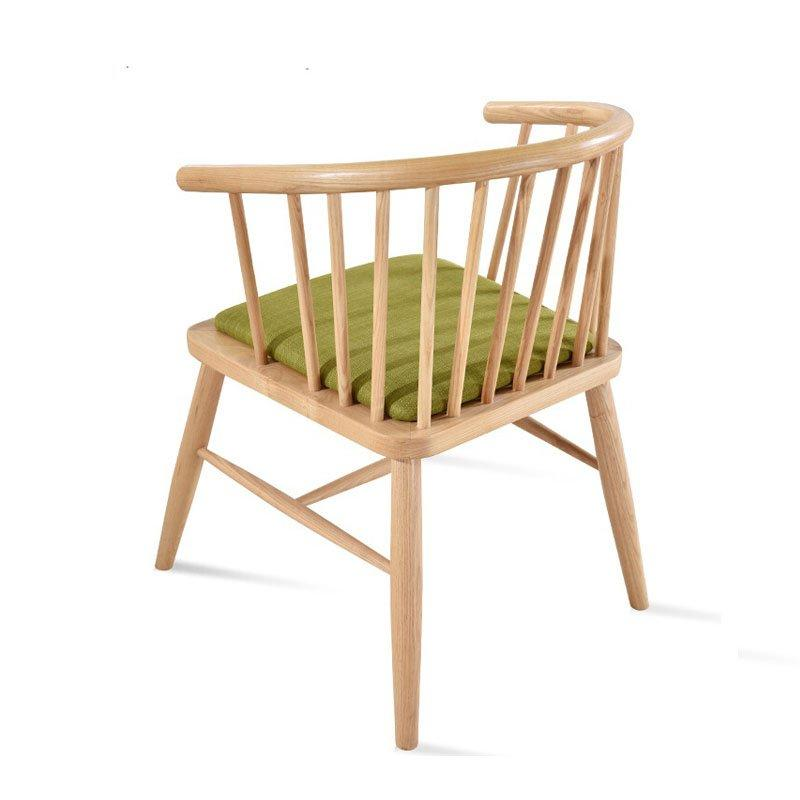 Modern Banquet Seating Wooden Cafe Chair CA058