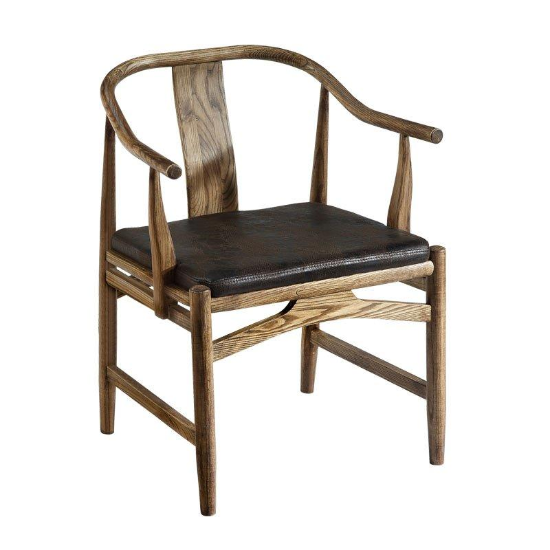 Archaize Furniture Hotel Retro Wooden Chair CA062