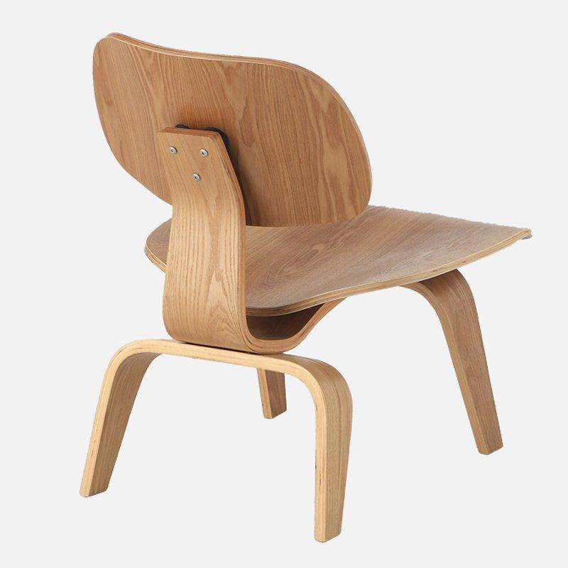 Nordic Design Lounge And Cafe Timber Chair CA061