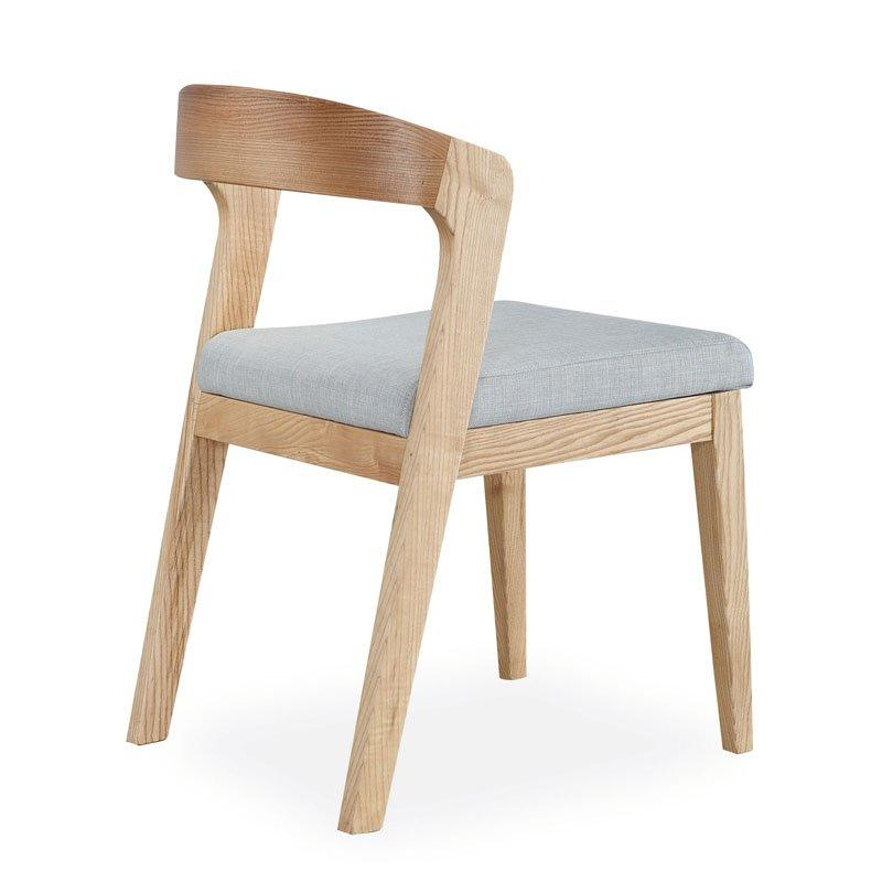 Contemporary Restaurant Wooden Bent Back Chair CA064
