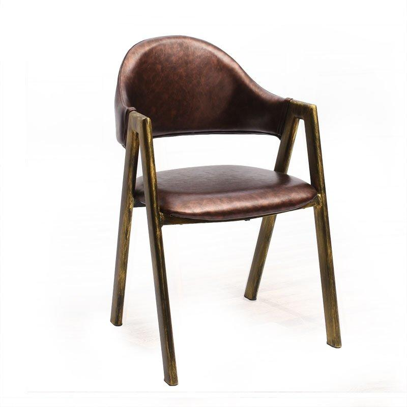 Retro Style Metal Dining Chairs With Soft Mat CE004