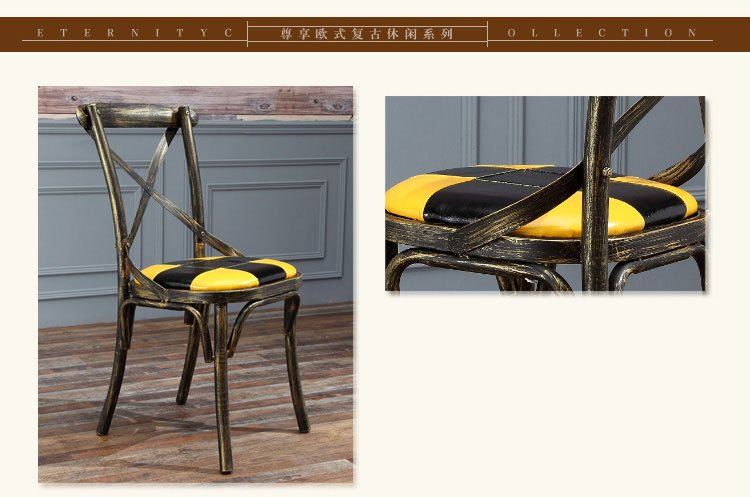 metal dining chairs online