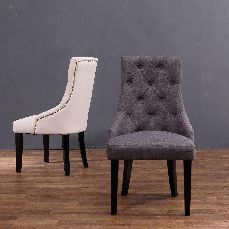 Classical Hotel Wooden Pull clasp Dining Chair CB006