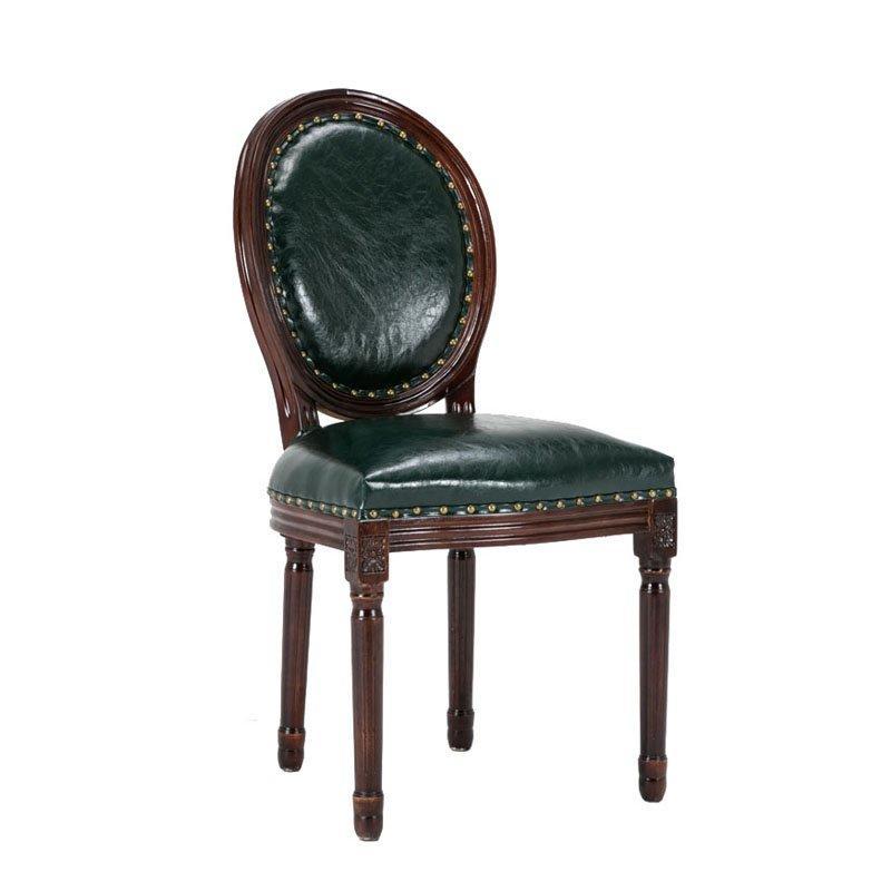 Nostalgic Style Restaurant Wooden Backrest Chair CB010
