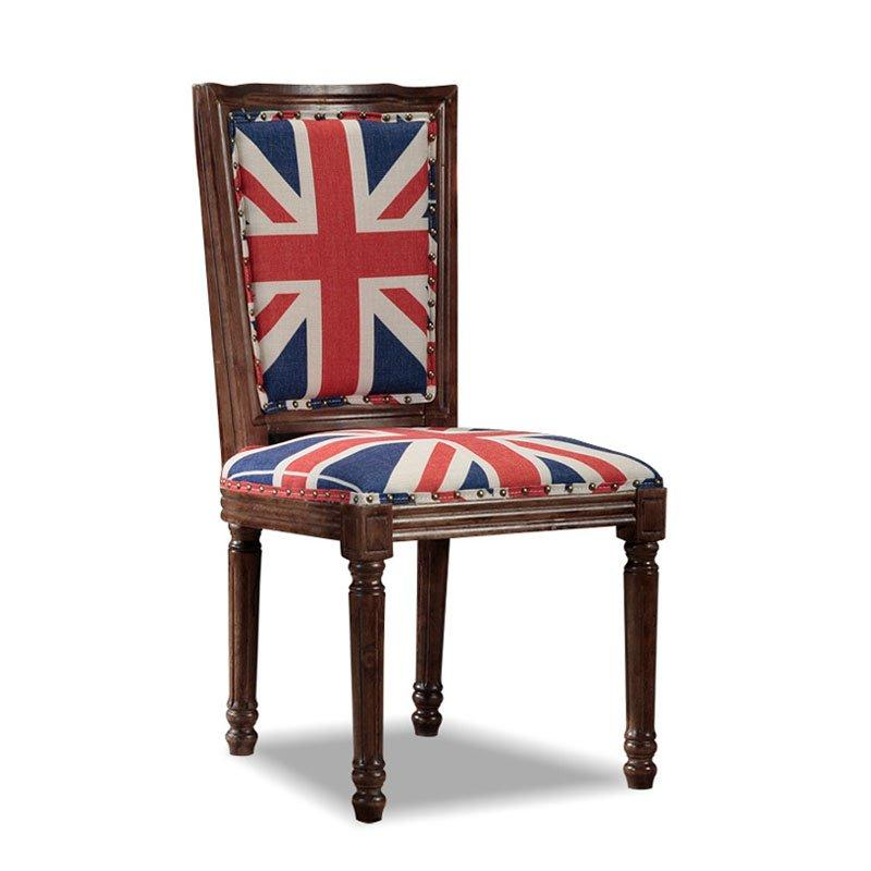 Rustic Club And Bistro Wood Dining Chair CB013
