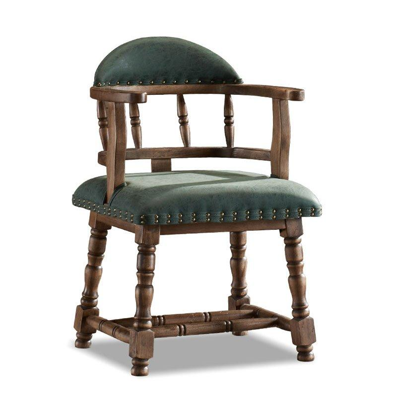 Antique Reproduction Furnishing Wooden Armchair CB015