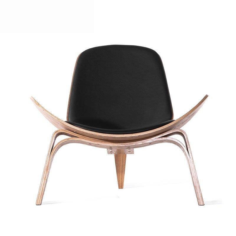 Nordic Club And Lounge Wooden Smiling Chair SA016