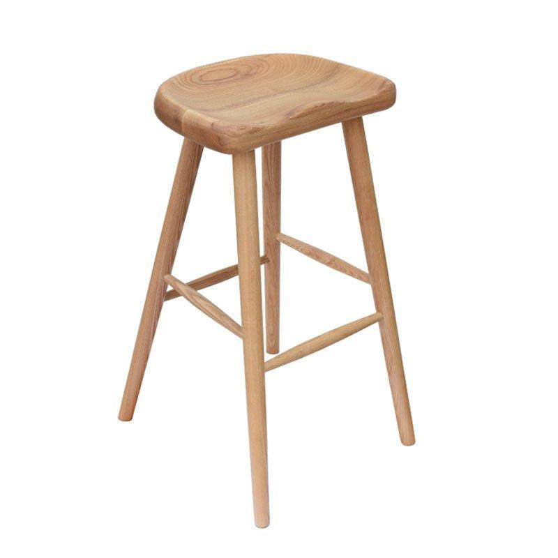 Natural Wood Bar And Pub Counter Stools BA011