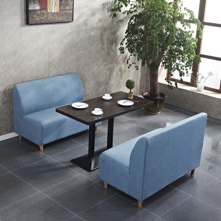 upholstered booth seating