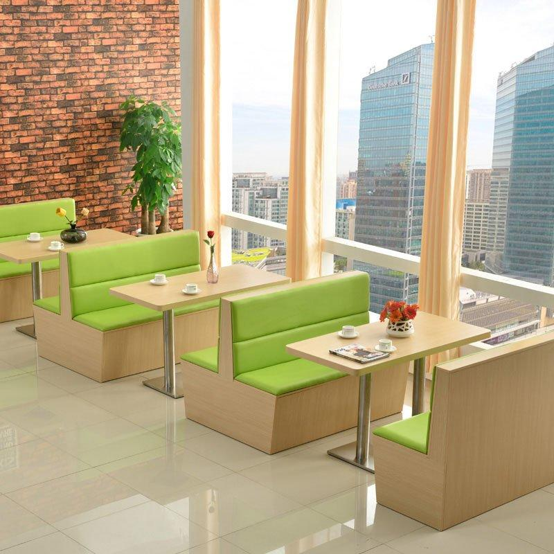 Concise Restaurant Seating Design Double Booths SJ001