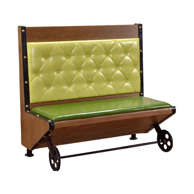 Industrial Design Wheels Bar Booths Seating SJ004