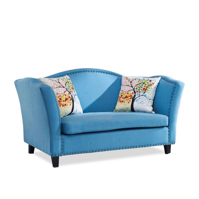 Fashion KTV Furniture Fabric Double Seat Sofa SD003