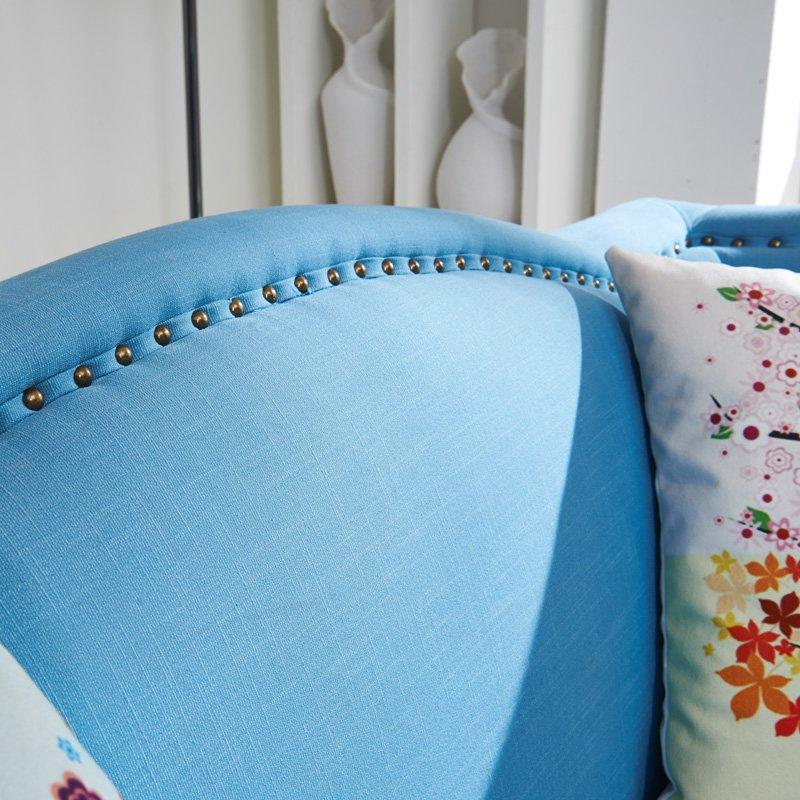 Fashion KTV Furniture Fabric Double Seat Sofa SD003