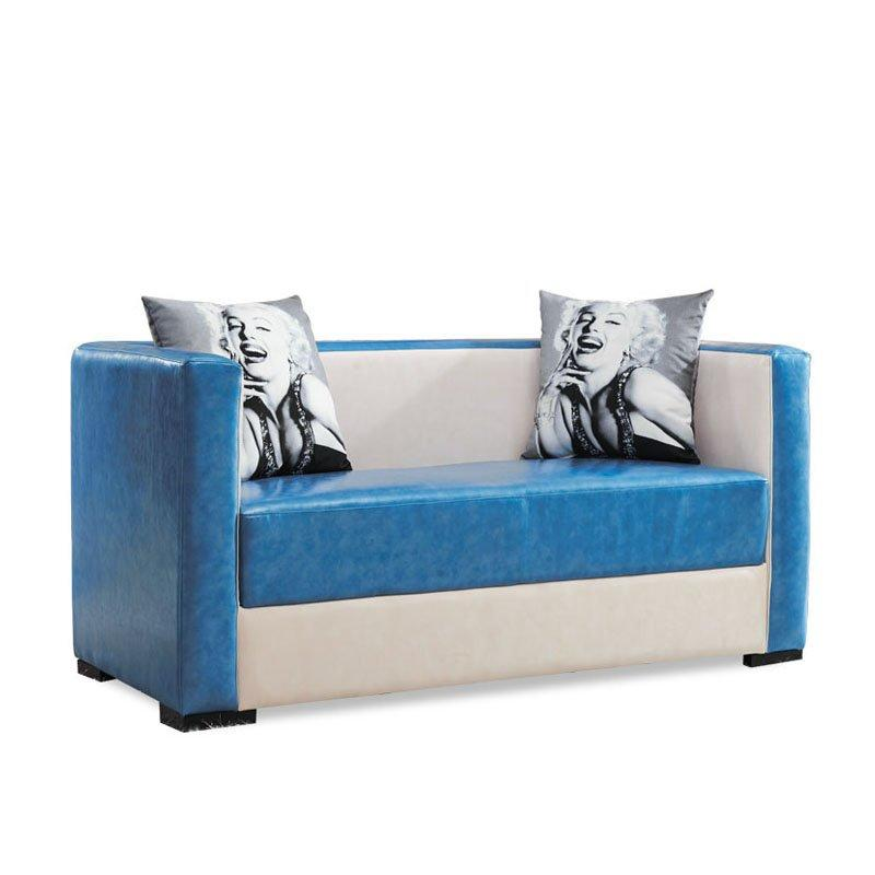 Modern Faux Leather Banquette Sofa Seat SD005