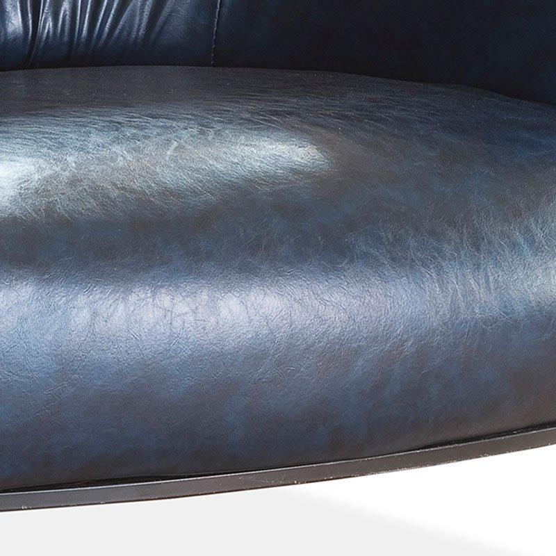 Retro Club And Bar Leather Sofa Group SD006