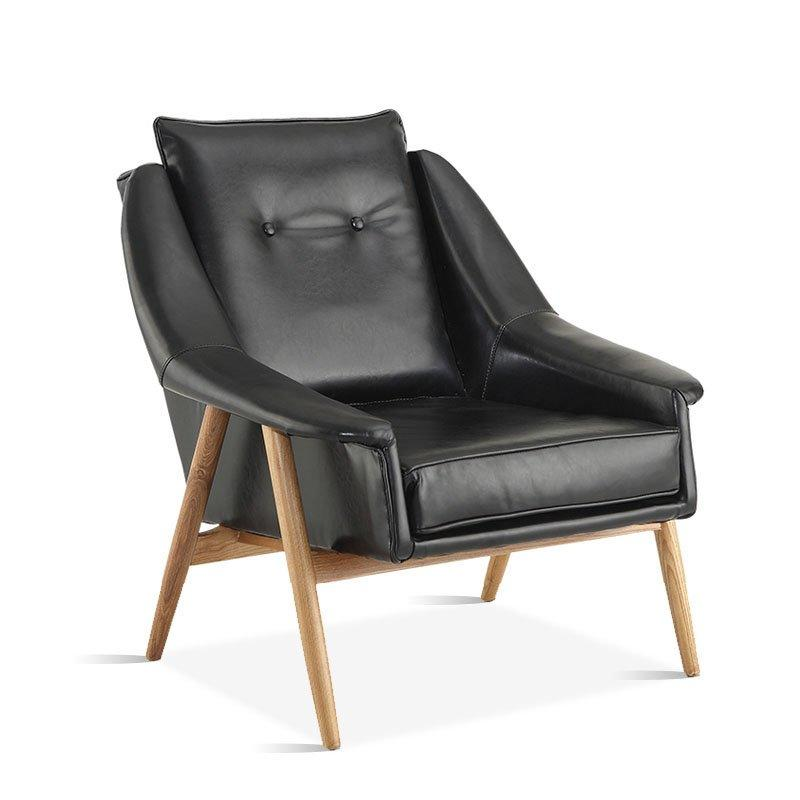 Modern Hotel And Lounge Leather Leisure Chair SA005[1]