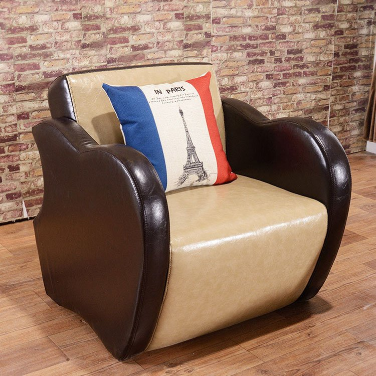 leather dining settee