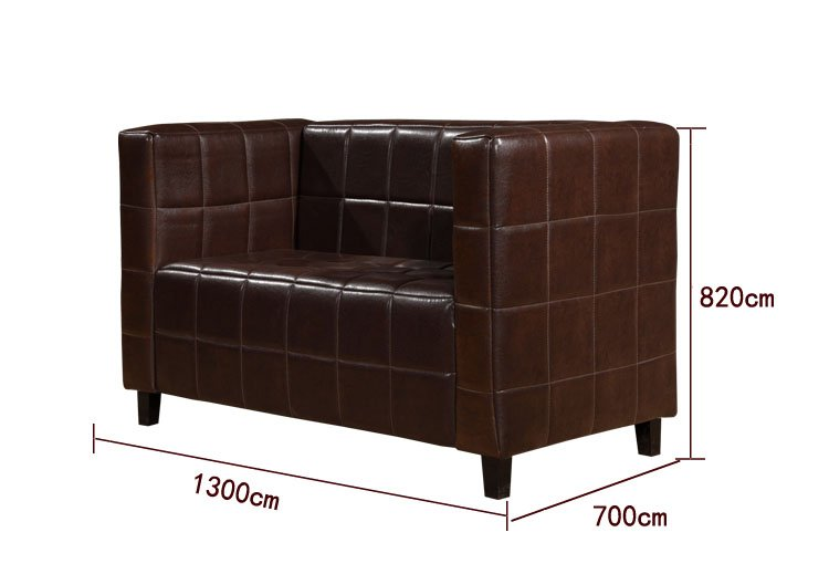 restaurant sofa dimensions