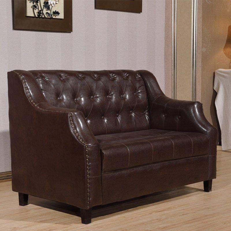 Retro Restaurant Double Seat Sofas SE016
