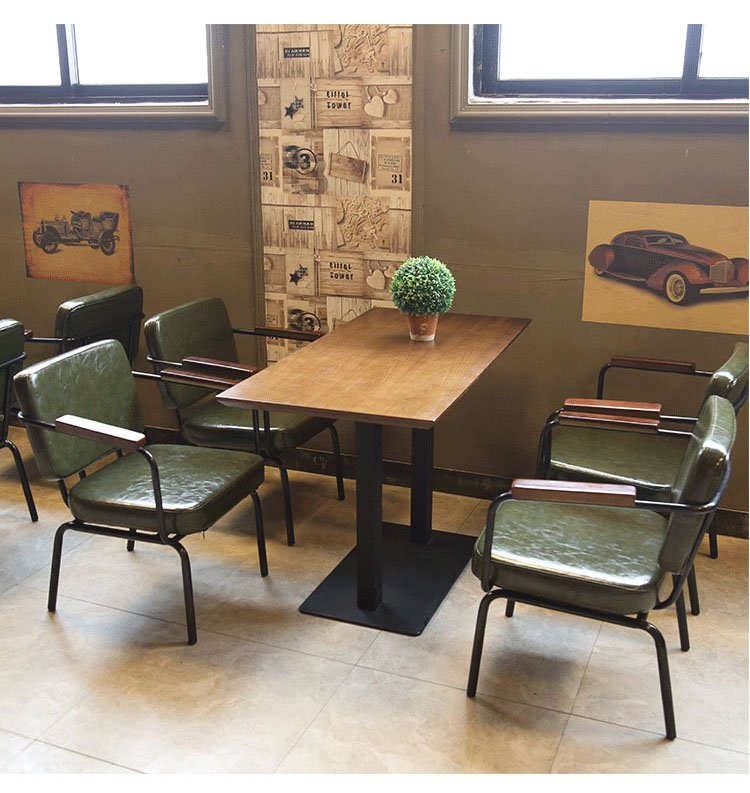 industrial bistro chairs