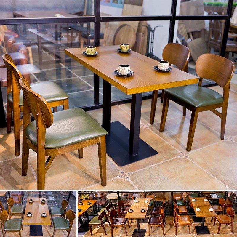 Commercial Pub Wooden Table Chair Set GROUP63