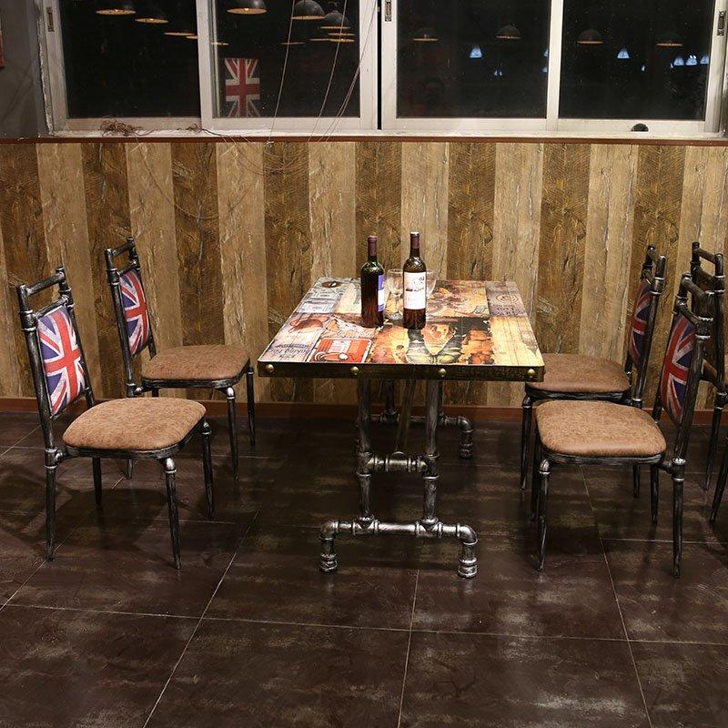 Industrial Cafeteria Table And Chair Seating GROUP66