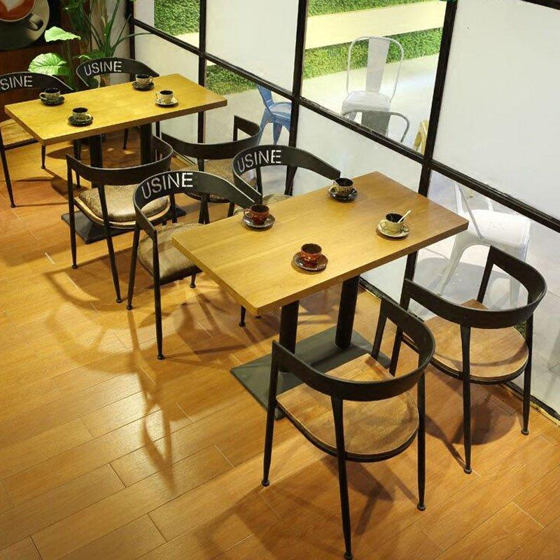 Retro Bar Customized Iron Chair And Table GROUP73