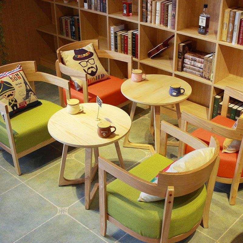 Modern Restaurant Lounge Solid Wood Table Chairs GROUP70