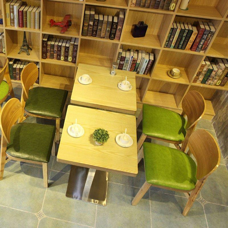 Contemporary Restaurant Bistro Wood Tables Chairs GROUP75