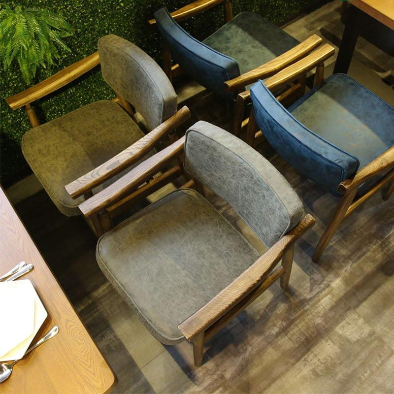 Modern Wooden Catering Table And Armrest Chair GROUP78