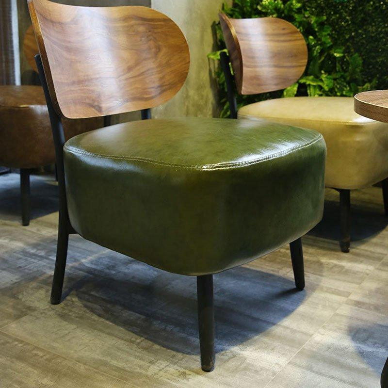 Commercial Cafe Pub Tables And Leather Stools GROUP80