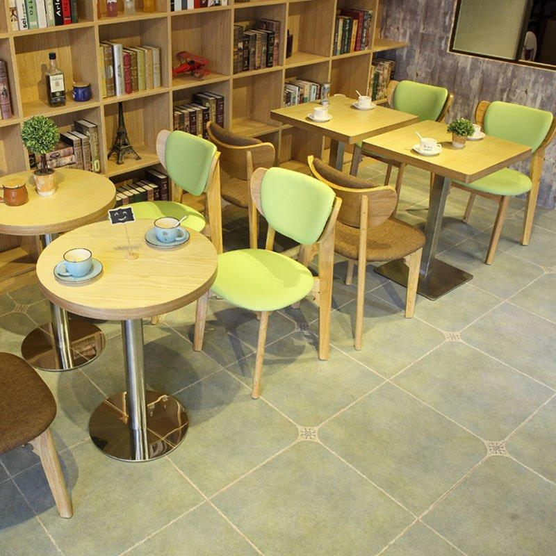 Modern Dessert Shop Furniture Wood Dining Sets GROUP87