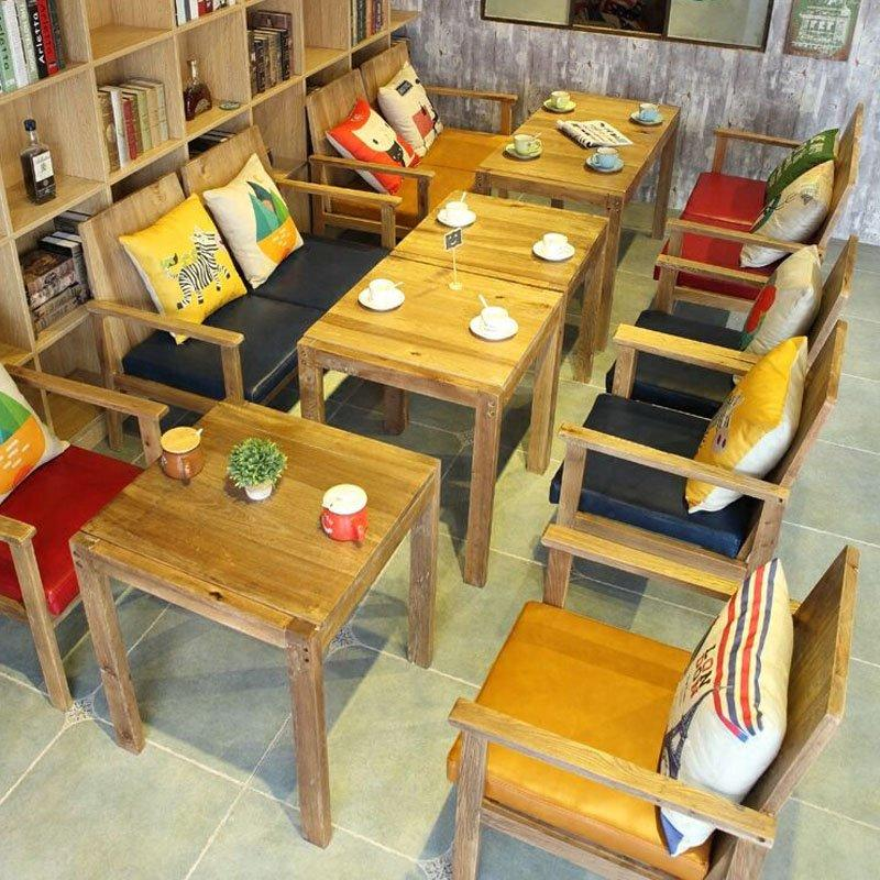 Nostalgic Style Timber Table And Chiar For Eatery GROUP88