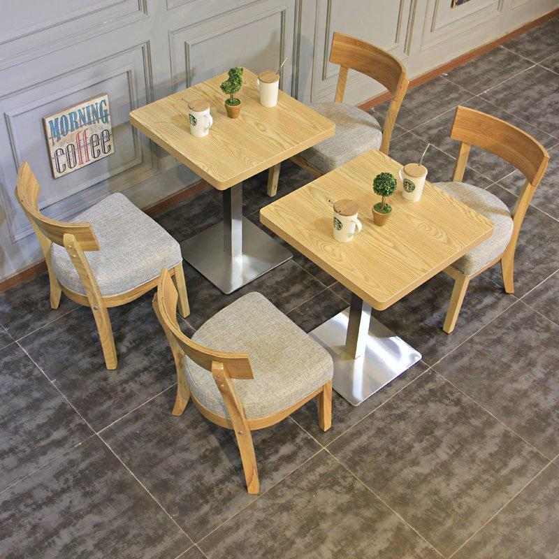 Commercial Quality Wooden Cafe Bar Table And Chair GROUP96